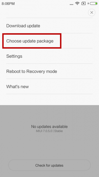 How to update Xiaomi Phones to MIUI 7 (7 1) Global Stable ROM