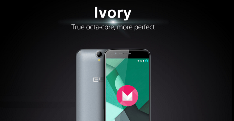 elephone ivory Android 6.0 Marshmallow update