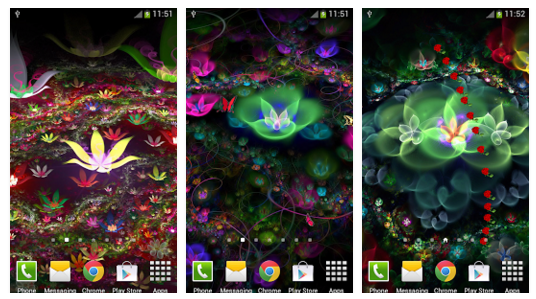 Fantasy flower live wallpaper download