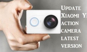 Xiaomi Yi action camera firmware update
