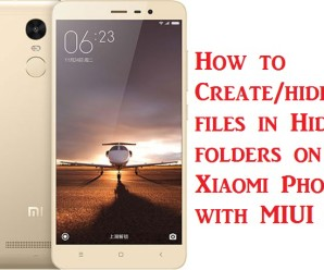 xiaomi-redmi-note-3-hidden folders create