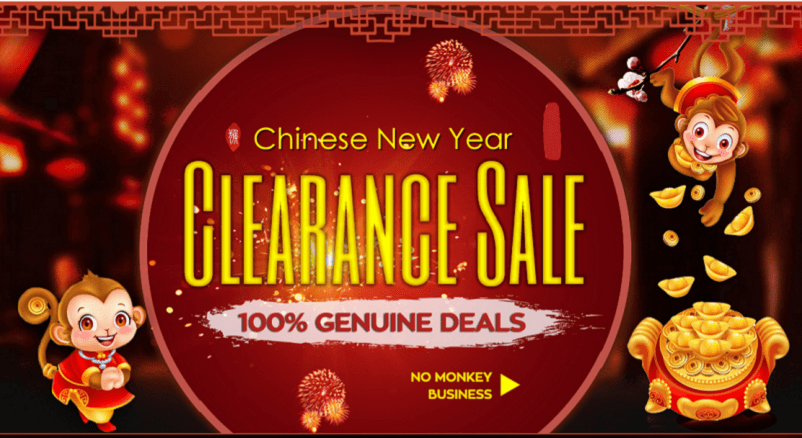 GearBest Chinese New Year sale 2016