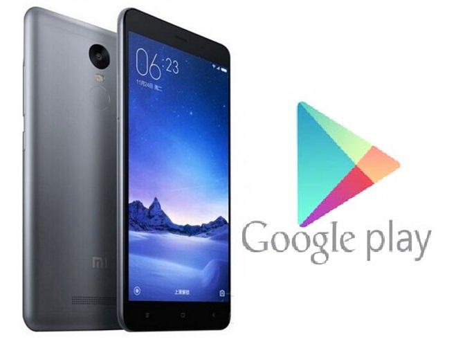 Download & Install Google Play Store on Redmi Note 4, Redmi