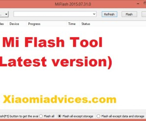 Mi Flash tool latest version 1
