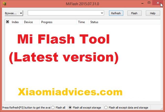 Download Xiaomi Mi Flash Tool (Latest Version) | Xiaomi Advices