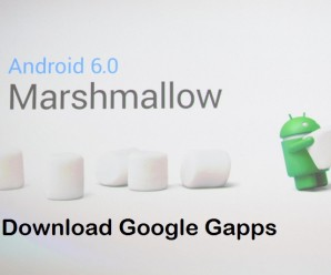 Gapps for Android 6.0 Marshmallow