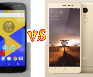 Moto G4 Plus vs Redmi Note 3