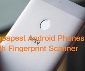 best fingerprint scanner smartphones Android
