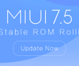 MIUI 7.5 update China Stable ROM