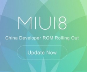 MIUI 8 China Developer ROM 6.6.16