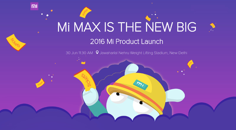 Mi Community, Mi Max launch details