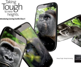 Corning Gorilla Glass 5 features