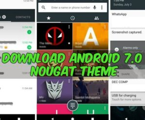 Android 7.0 Nougat theme Marshmallow phones