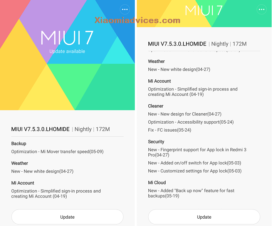 MIUI 7.5.3.0 Redmi Note 3