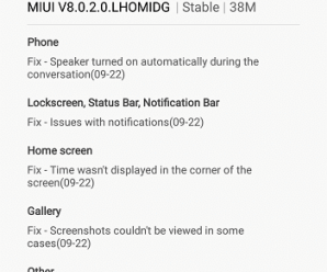 Redmi Note 3 gets MIUI v8.0.2.0.LHOMIDG Global Stable update