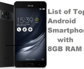 best 8GB RAM phones 2017