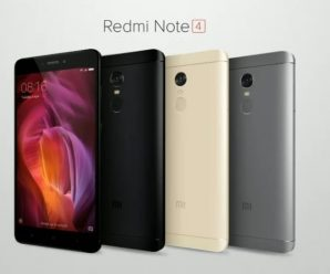Xiaomi Redmi Note 4 Colors