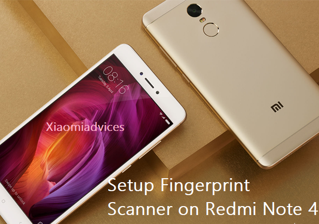 Download Xiaomi Redmi Note 4 Stock Wallpapers In Full Hd: How To Setup Fingerprint Scanner On Redmi Note 4