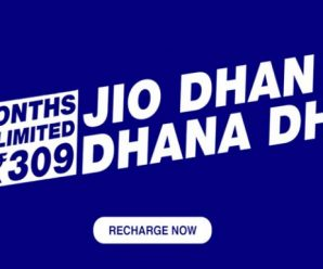 Jio Dhan Dhana Dhan offer recharge now