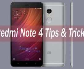 Redmi Note 4 tips & tricks