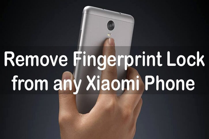 MIUI 8: How to Remove Fingerprint Lock from any Xiaomi phone