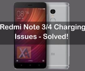 Redmi Note 4 battery not charging1