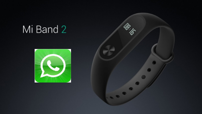 Xiaomi Mi Band 2 enable app alerts