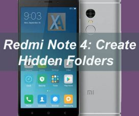 Redmi Note 4 hidden folders 2