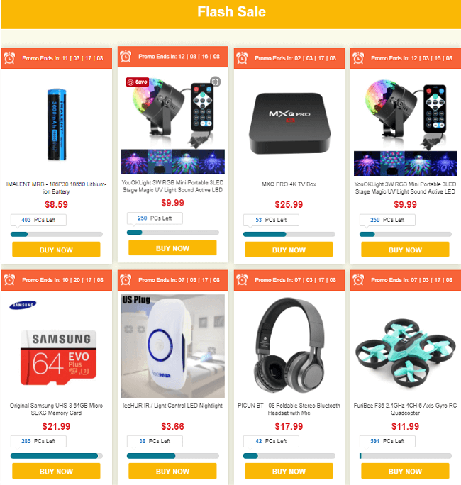 GearBest Mid autumn harvest sale deals