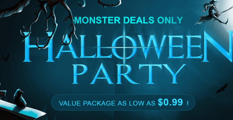 GearBest Halloween Party sale1