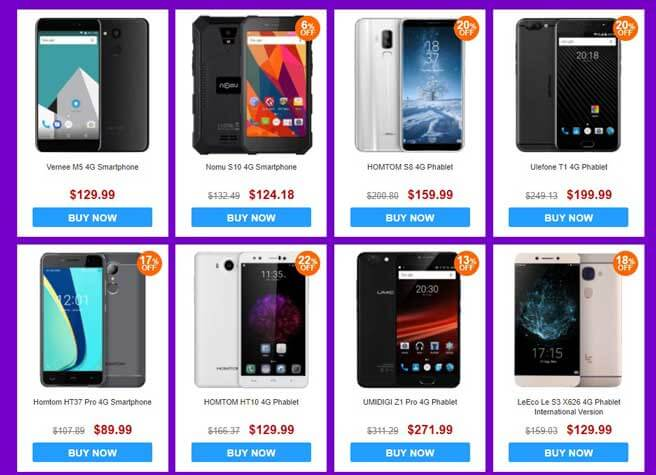 Gearbest America Android Lovers Deal1