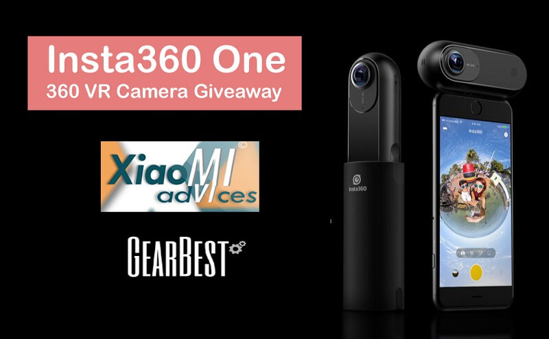 Insta360 One 360 VR Camera Giveaway