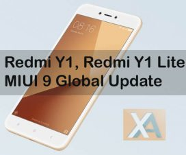 MIUI 9 Redmi Y1 Lite download