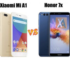 Xiaomi Mi A1 vs Honor 7X compare