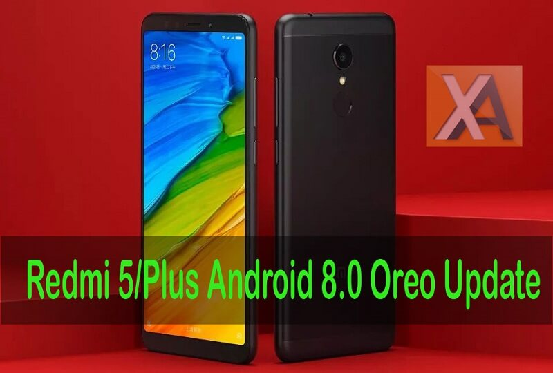 Redmi 5 Android 8.0 Oreo updates