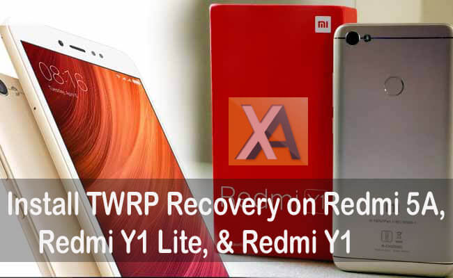 Download & install TWRP recovery for Redmi 5A, Redmi Note 5A