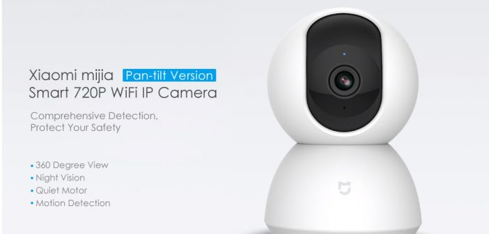 Xiaomi mijia Smart 720P WiFi IP Camera deal coupon