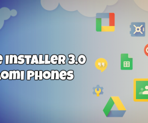 Google Installer 3.0 for Xiaomi Phones download