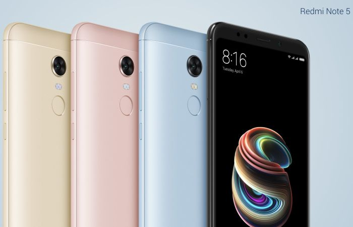 Xiaomi Redmi Note 5 Colors