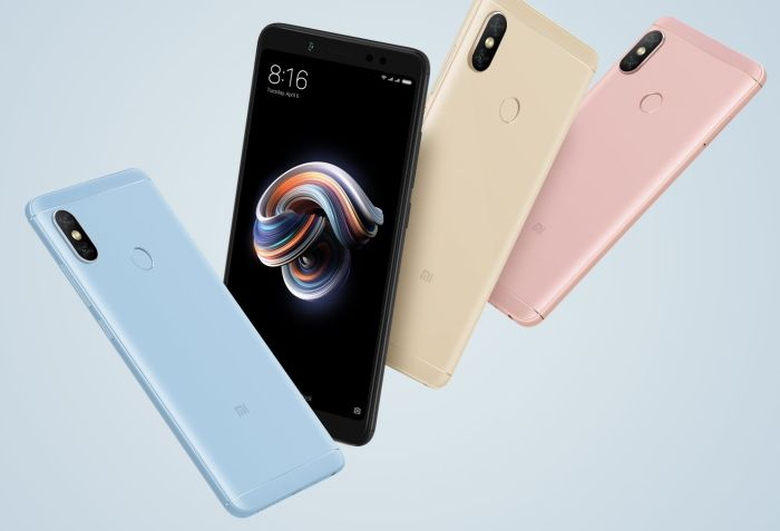 Xiaomi Redmi Note 5 Pro price in india