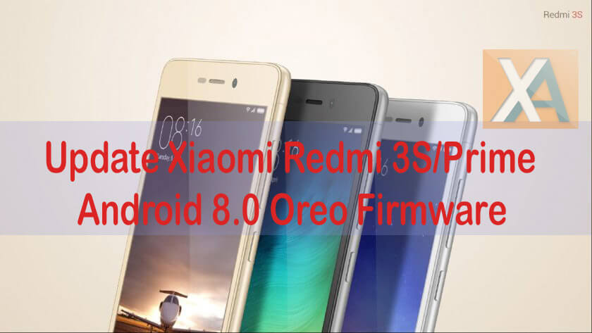 redmi 3s prime android 8.0 oreo update