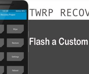 Flash Custom ROM using TWRP Recovery