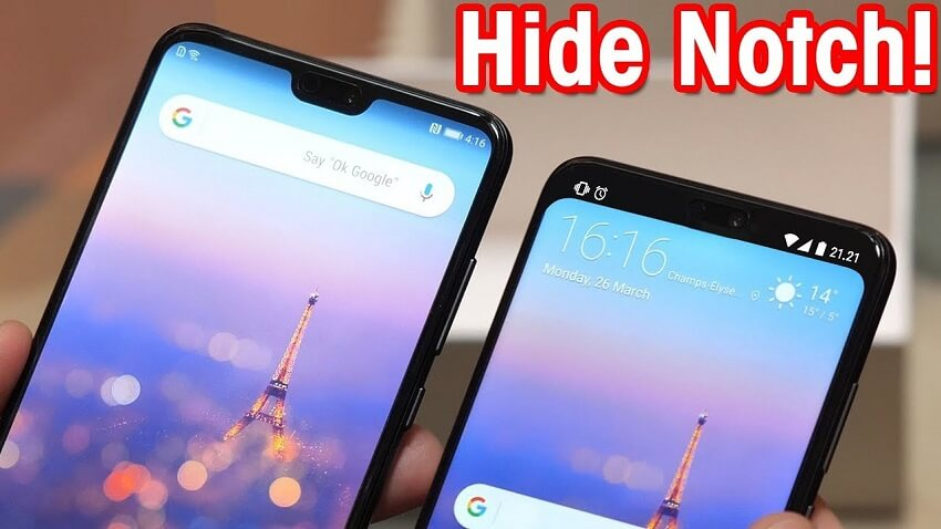 Hide Notch on Android