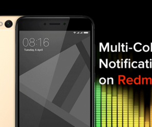 Multi coloured LED notifications redmi 4