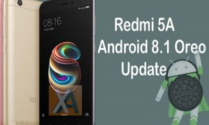 Redmi 5A Android 8.1 Oreo download