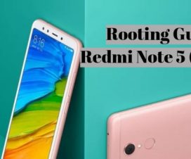 Redmi Note 5 root twrp