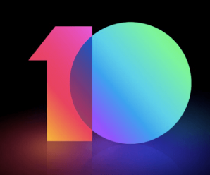 MIUI 10 update download logo
