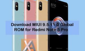 Redmi Note 5 Pro MIUI 9.5.11.0 Global ROM download