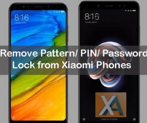 Remove Pattern PIN Password Lock from Xiaomi MIUI phones
