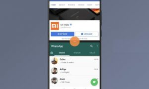 Split Screen MIUI Xiaomi phones